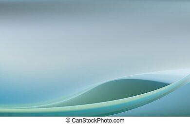blauwe , bleek, achtergrond, zee, verslappen
