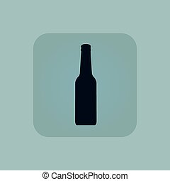 blauwe , bleek, alcohol, pictogram