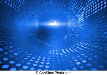 blauwe , futuristisch, achtergrond