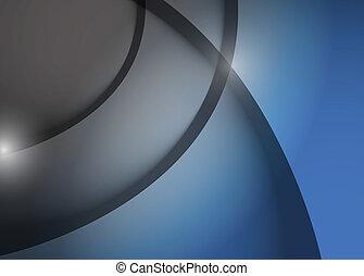 blauwe , grafisch, lijnen, grijze , illustratie, golf