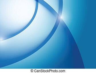 blauwe , grafisch, lijnen, illustratie, golf, ontwerp