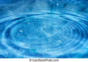 blauwe , ii, ripples