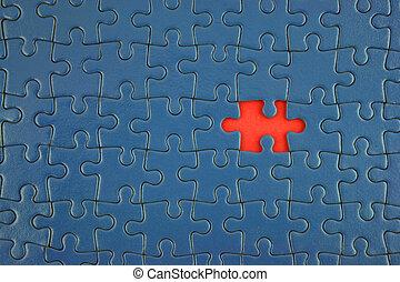 blauwe , jigsaw