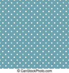 blauwe , model, polka, seamless, textured, punt