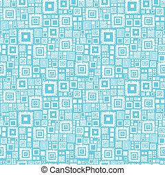 blauwe , model, seamless, achtergrond, witte , pleinen, geometrisch