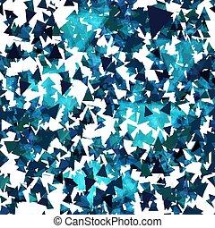 blauwe , model, triangles., seamless
