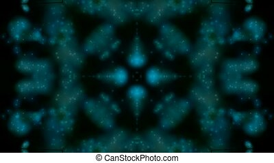 blauwe , model, zich verbeelden, bloem