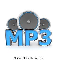 blauwe , sprekers, -, mp3