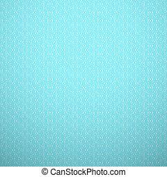 blauwe , stijl, lijn., weefsel, achtergrond., muur, model, abstract, bocht, seamless, textuur, gebreid, elegant, boek, vector, delicaat, witte , blauwgroen, pattern., cover., illustration.