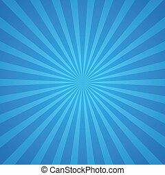 blauwe , stralen, achtergrond