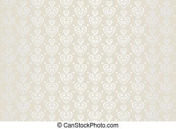 bleek, kaart, achtergrond, trouwfeest