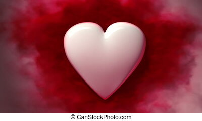 bloedende , lus, hart