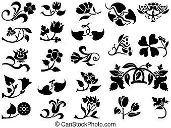 bloem, pictograms
