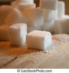 blokje, suiker