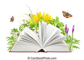 boek, natuur