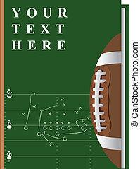 boek, voetbal
