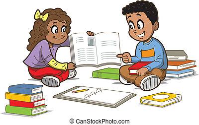 boekjes , kinderen