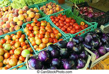 boer, middellandse zee, markt