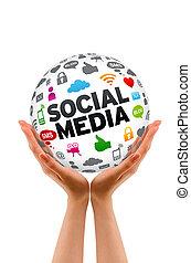 bol, media, sociaal, holdingshanden
