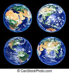 bollen, aarde