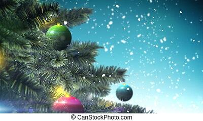 boompje, kerstmis, lus