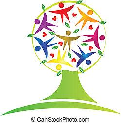 boompje, teamwork, logo