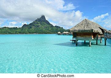 bora, vakantiepark, vakantie, overwater, luxe