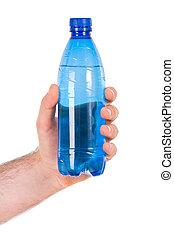 bottle., plastic