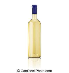 bottle., witte wijn