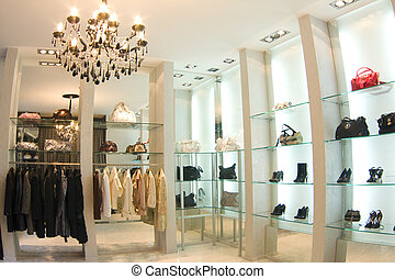 boutique, interieur