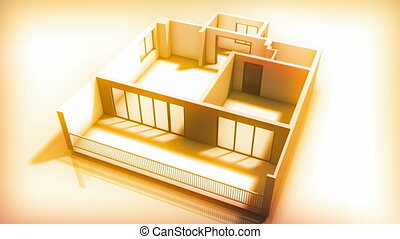bouwen, interieur, thuis
