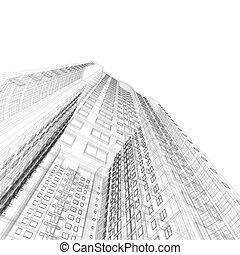 bouwschets, architectuur