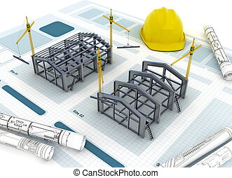 bouwsector, fabriek