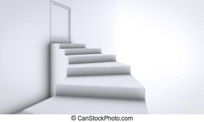 bovenzijde, trap