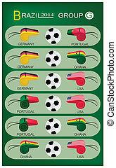 brazilie, groep, g, toernooi, 2014, voetbal