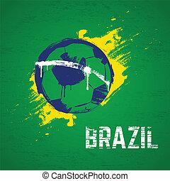 brazilie, voetbal, achtergrond