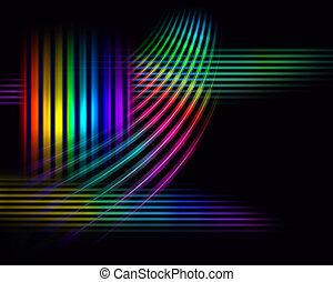 breed, spectrum, achtergrond