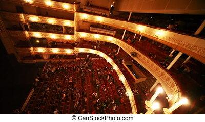 breken, operette, theater, mensen