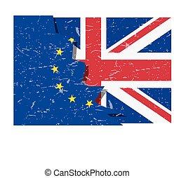 brexit, vlag