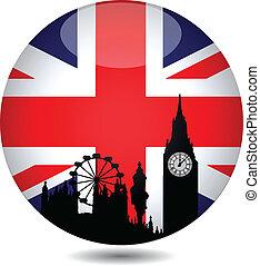 brits, knoop, vlag