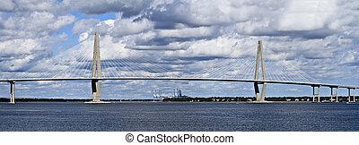 brug, rivier, kuiper