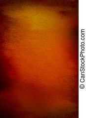 bruine , abstract, gele, motieven, achtergrond, textured, sinaasappel, achtergrond, rood