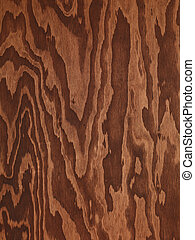bruine , abstract, hout, triplex, textuur