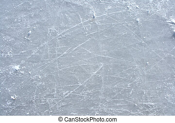 buiten, ijsschaats, oppervlakte, rink, tekens