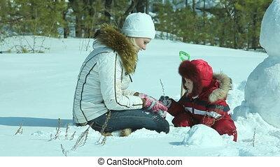 buiten, winter