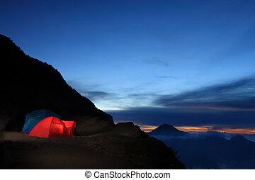 buitene avontuur, kamperen