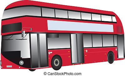 bus, rood