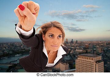 businesswoman, fantastisch