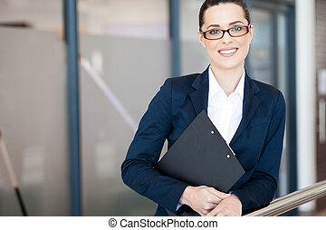 businesswoman, jonge, aantrekkelijk