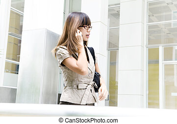 businesswoman, verhuizen